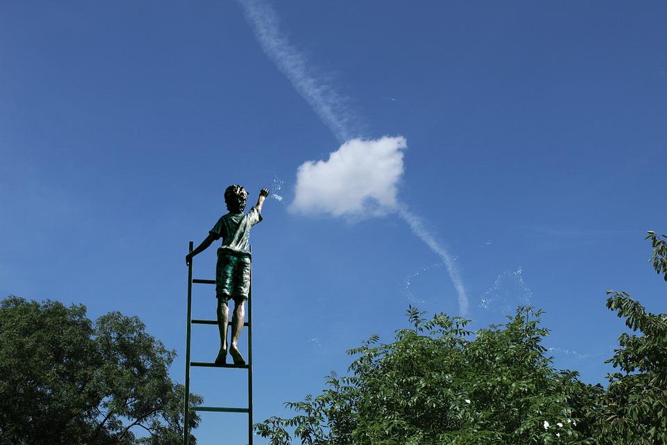 空を観る子供(将来性)